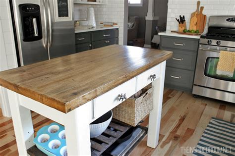 diy kitchen island   unfinished furniture