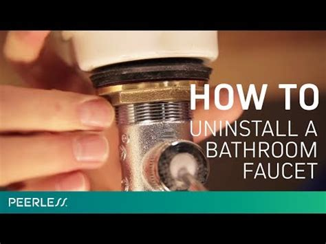 How To Uninstall A Kitchen Faucet by How To