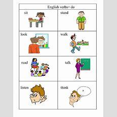 Verbs= Doing Words  English 4 Me 2