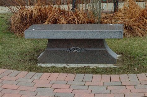 Cremation Benches Cemetery  Simple Home Decoration