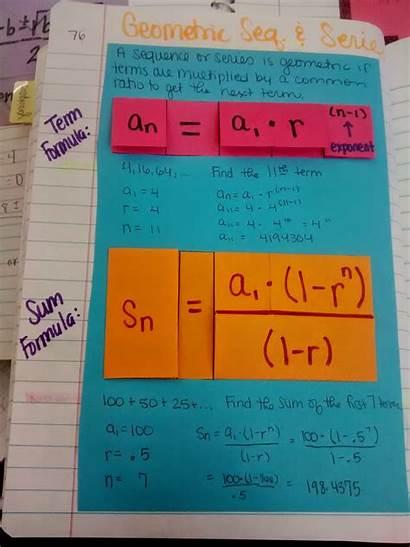 Sequence Sequences Series Algebra Geometric Math Unit