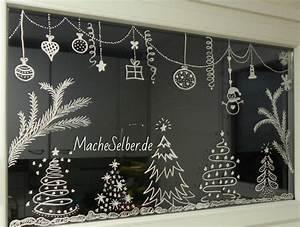 Fenster Bemalen Weihnachten : mache selber ~ Watch28wear.com Haus und Dekorationen