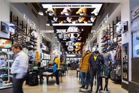 oakley flagship store   york moment factory