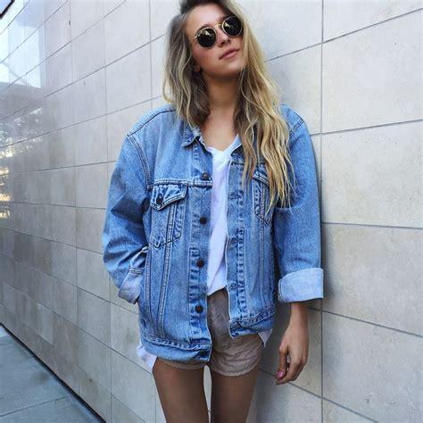 The 25+ best Oversized denim jacket ideas on Pinterest | Jean jacket oversized Denim jacket ...