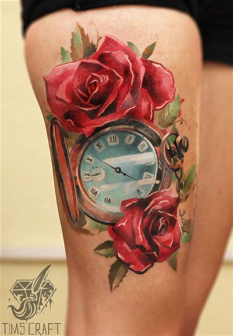 gorgeous thigh tattoos designbump