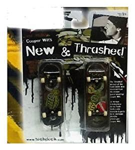 amazon com tech deck new thrashed two finger
