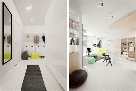 3 Sparkling Apartments That Shine With Wonderful White : 3 White Apartments In Different Styles