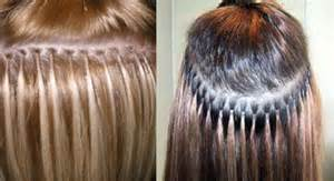 keratin tip extensions micro loop hair extensions
