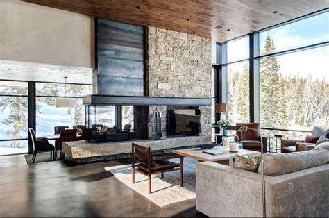 Fireplace As Room Divider  Ks  Pinterest Granite
