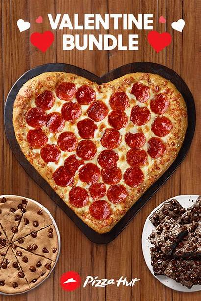 Pizza Pizzahut Heart Shaped Hut Order Party