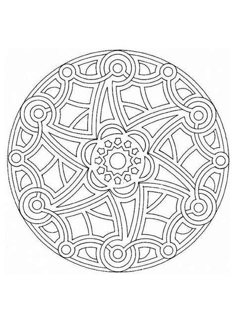 Mandalas Für Experten by Mandala 15a Coloring Pages Hellokids