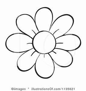 Flower Outline Clipart Many Interesting Cliparts