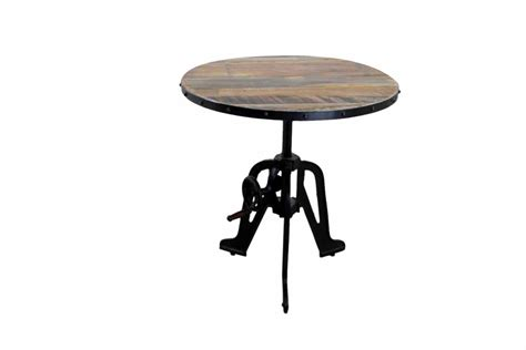industrial looking dining room tables industrial style crank rustic dining room table mexican