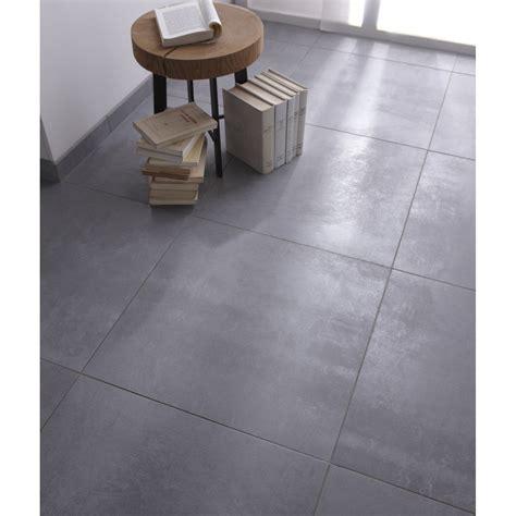 carrelage sol et mur gris effet b 233 ton factory l 60 x l 60 cm leroy merlin