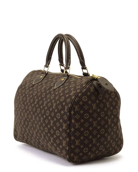 louis vuitton monogram mini speedy  handbag  brown