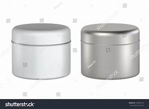 3d Tin Can White Color And Silver Package Type Cylinder ...