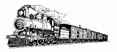 Train Steam Clip Clipart Trains Cliparts Locomotive