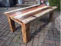barn wood tables DIY Reclaimed Barn Wood Coffee table | DIY and Crafts