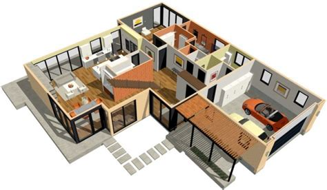 bedroom house plan ecad house plan