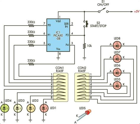 Simple Cable Tester Circuit Diagram Electronic Circuits