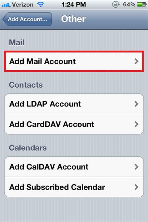 how to setup email on iphone 5 how to manually configure your email account on your 20321