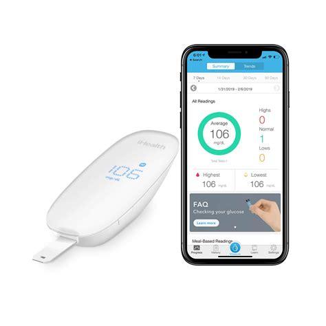review  ihealth wireless smart blood sugar test kit