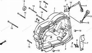 Honda Motorcycle 1980 Oem Parts Diagram For Right