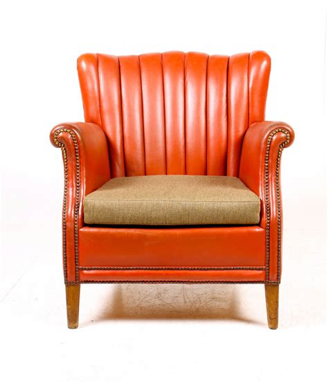 easy chair and ottoman by otto schulz for sale at 1stdibs