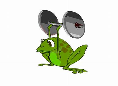 Frog Animated Sports Clipart Animations Am Gifs