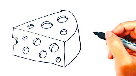 Cómo Dibujar Un Queso Para Niños