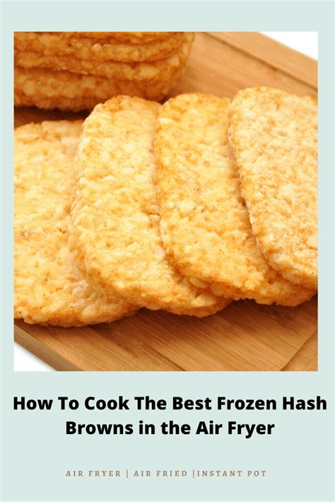 fryer air hash browns frozen cook recipe forktospoon cooking recipes brown patties shredded fry hashbrowns making potato potatoes