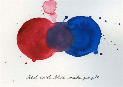 what 2 colors make purple mixing colors and blue make purple print from original