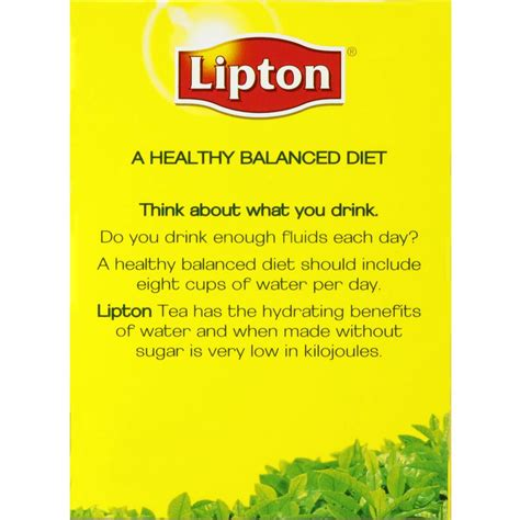 Lipton Black Tea Benefits