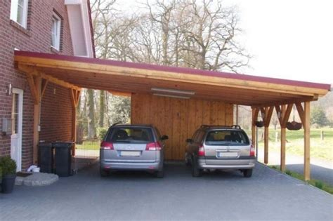 (25+) Inspiring Carport Ideas Attached To House & Wood