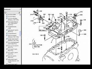 Kubota L2900dt L2900f L2900 Dt F Tractor Parts Manuals For