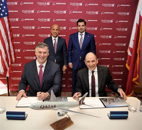 Boeing, Qatar Airways Sign Letter Of Intent For Five 777