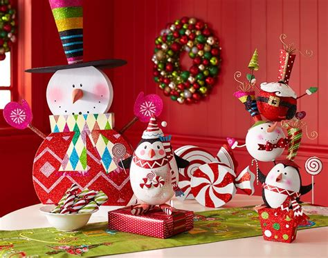 peppermint playland decor  christmas ornaments