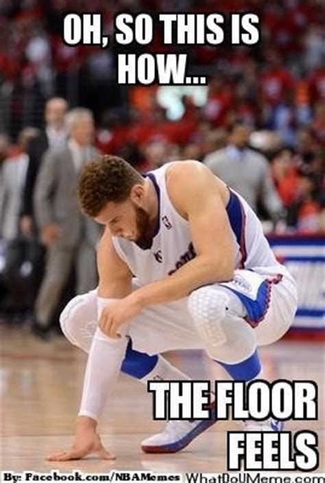 Blake Griffin Meme - blake griffin griffins and the floor on pinterest