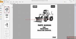 Michigan Wheel Loaders 55b  3165 Parts Catalogue
