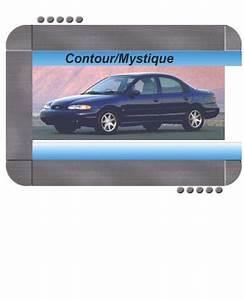 Ford Contour  Mercury Mystique 2000 Factory Service  U0026 Shop