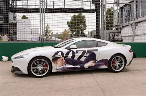 Skyfall Aston Martin Vanquish Unveiled At Grand Prix Today
