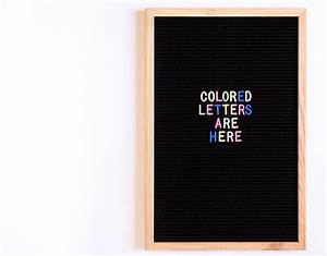 new colored letter board letters letter boards are With letter board