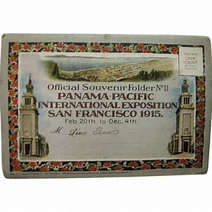 1915, Panama Pacific International Exposition San ...