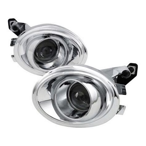 01 06 bmw e46 3 series 325i 330i m3 chrome projector fog