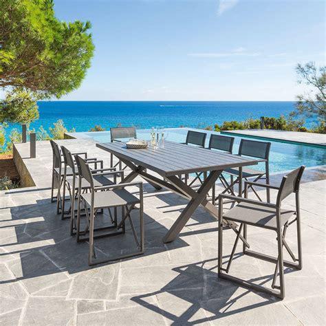 chaise de jardin hesperide stunning table de jardin ronde hesperide contemporary