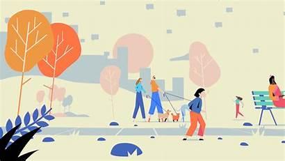 Community Motion Standards Animation Behance Illustration Moth