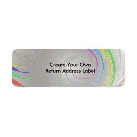 design your own labels address label
