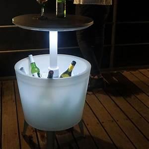 Keter Grill Beistelltisch : keter gartentisch partytisch bistrotisch beistelltisch cool bar mit eisbox licht ebay ~ Yasmunasinghe.com Haus und Dekorationen