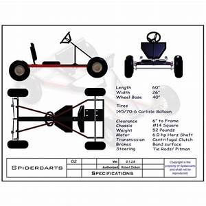 Free Go Kart Plans And Blueprints For Spidercarts