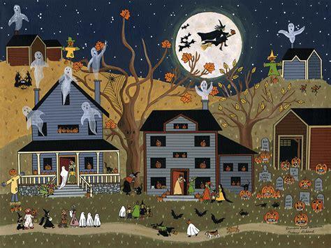 brandons  halloween painting  medana gabbard